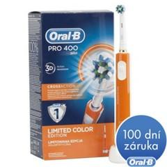 ORAL-B, Elektrický kartáček, PRO 400, oranžová