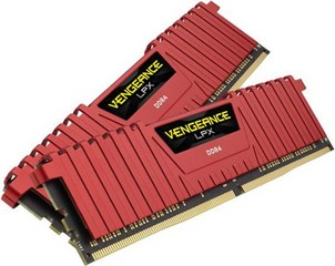 CORSAIR 16GB=2x8GB DDR4 4000MHz VENGEANCE LPX RED CL19-23-23-45 1.35V XMP2.0 (16GB=kit 2ks 8GB s chl