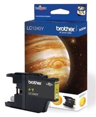 BROTHER LC-1240Y cartridge Yellow - 600 stran