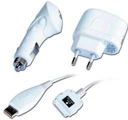 Kabel Nabíječka USB uni 230V 2in1, CL+Síť, iPod kabel v balení GEMBIRD (CAR adapter)