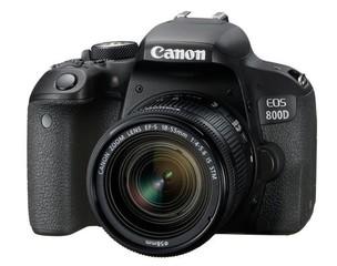 CANON EOS 800D +18-55 mm IS STM objektiv EF-s, digitální fotoaparát, cca 24MPix, vyklápěcí display,