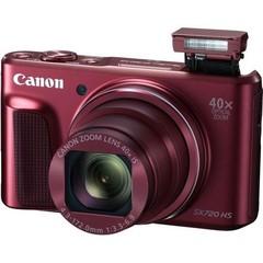 CANON PowerShot SX720 HS digitální fotoaparát červený, red, 20Mpix, 40x optický zoom