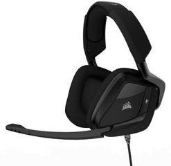 CORSAIR Gaming VOID Surround Premium Stereo Carbon (černé) Dolby 7.1 Gaming Headset, sluchátka s mik