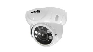 KGUARD CCTV dome kamera VA824E 2M,1080p, IR LED dosvit 35m,2.8~12mm Vari-focal Fixed Lens with 25-85