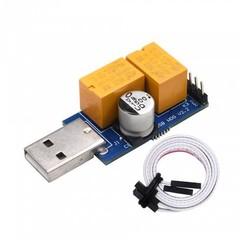 ANPIX USB WatchDog (adaptér pro automatický reset PC) s resetovacím kabelem do MB