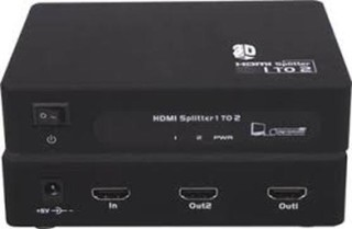 HDMI splitter 2x HDMI 1.4 kompatibilní max. rozlišení 1080i a 1080p