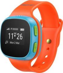 ALCATEL MOVETIME dětské SmartWatch oranžová/modrá (smarthodinky, Bluetooth, SIMM)