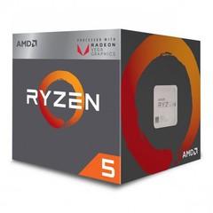 AMD cpu Ryzen 5 2400G AM4 Box s grafikou Radeon RX Vega 11(s chladičem, 3.6GHz / 3.9GHz, 4MB cache,