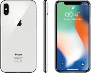 Apple iPhone X 64GB Silver (stříbrný), 5.8