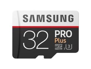 SAMSUNG micro SD card SDHC 32GB PRO PLUS Class10 UHS-I U3 (+1 adaptér na SD, pro SDHC zařízení, podp