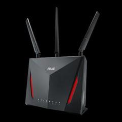 ASUS RT-AC86U wifi 802.11a/b/g/n/ac wifi dvoupásmový Wireless AC2900 gigabitový router 4xLAN 1xWAN U