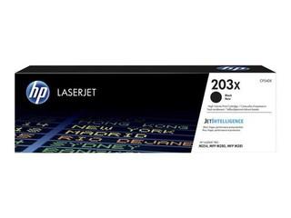 HP CF540X originální toner černý č.203X velký cca 3200str. (pro CLJ PRO M280, M281, M254, black)