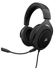 CORSAIR HS50 Stereo sluchátka Carbon (černé) Gaming Headset, sluchátka s mikrofonem, (náhlavní soupr