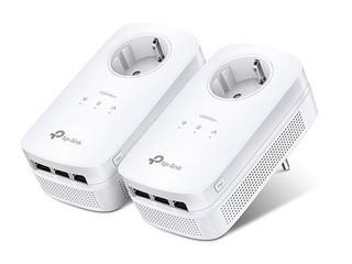 TP-LINK TL-PA8030P STARTER-KIT průchozí AV1300 Powerline Starter se třemi gigabitovými porty