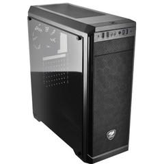 COUGAR case MX330 Midi Tower, window, bez zdroje, černá (black)