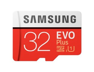 SAMSUNG micro SD card SDHC 32GB EVO PLUS class10 UHS-I U3 (+ 1x adapter microSD na SD)