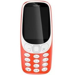 NOKIA 3310 Dual SIM Red, mobilní telefon červený, podporuje 2 SIM karty, fotoaparát, FM rádio