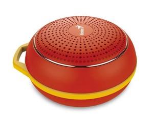 GENIUS repro SP-906BT R2 Needle case, Bluetooth 4.1, 3W dobíjecí červený