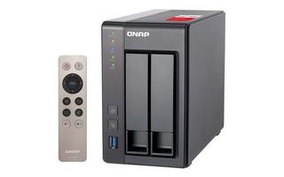 QNAP TS-251+-2G TurboNAS server, 2GB DDR3, pro 2x3,5in SATA3 HDD/SSD (USB3+USB2+ 2xGLAN datové úloži