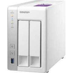QNAP TS-231P2-1G TurboNAS server, 1GB DDR3, pro 2x 3,5/2,5in SATA3 HDD/SSD (USB3 + 2xGLAN) datové úl
