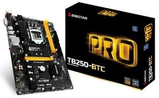 BIOSTAR MB TB250-BTC (1151)