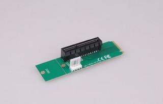 ANPIX redukce z NGFF M2 (key M) na PCI-E 4x (adaptér pro zapojení VGA karty přes M.2 konektor na MB)