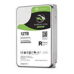 SEAGATE ST12000DM0007 hdd 12TB BarraCuda Pro SATA3-6Gbps 7200ot, 256MB cache (max. 250MB/s)