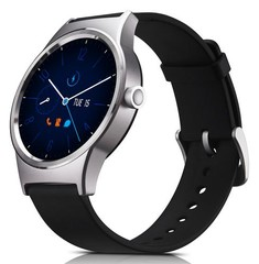 ALCATEL TCL MOVETIME MT10G SmartWatch Silver/Black (smarthodinky, displej 1.39in, Bluetooth)