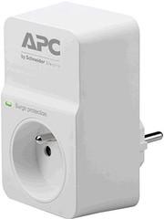APC PM1W-FR SurgeArrest Essential, přepěťová ochrana 230V, 1 zásuvka, bílá