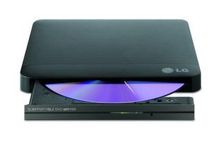 LG DVD±RW GP50NB40 external USB 2.0, 8xDVD±RW, 5xDVD-RAM, black, černá, externí vypalovačka