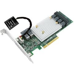 Microsemi Adaptec SmartRAID 3154-24i Single 12Gbps SAS/SATA 24 portů int., x8 PCIe Gen 3, cache pamě
