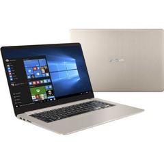 ASUS NB VivoBook S15 S510UA-BQ132T, 15.6in, i3-7100U, 4GB, 128GB ssd, BT, WIFI ac, Win10Home, zlatý