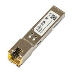MIKROTIK S-RJ01 SFP 10/100/1000M metalický modul S-RJ01, RJ-45, 100m, 1.25Gbps