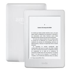 AMAZON KINDLE PAPERWHITE bílá 4GB WIFI elektronická čtečka knih, 6in dotykový podvícený display (whi