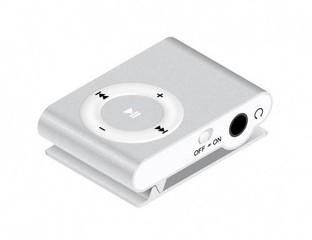 MANTA MP3 přehrávač 0GB stříbrný, microSD až 32GB
